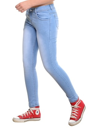 stone washed skinny jeans - 15532860 - Standard Image - 2