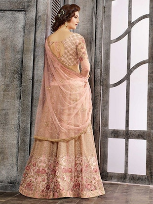 Tonal embroidered skirt suit with jacket set - 15537430 - Standard Image - 2