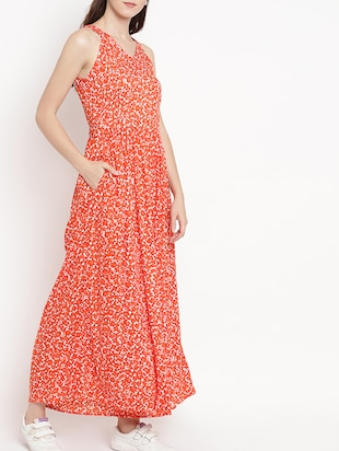 gathered detail flared jumpsuit - 15566299 - Standard Image - 2