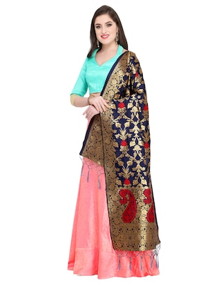Self-design flared lehenga - 15576357 - Standard Image - 2