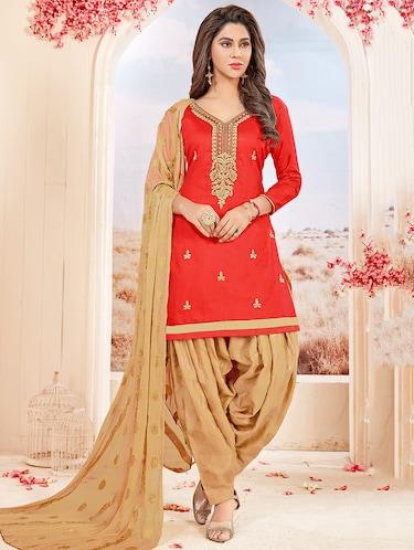 Red Salwar Kameez