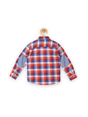 red cotton shirt - 15608937 - Standard Image - 2