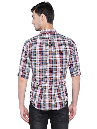 multi cotton casual shirt - 15609390 - Standard Image - 2