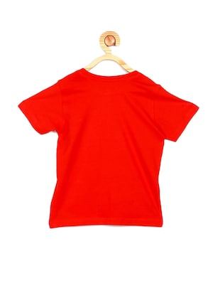 red cotton tshirt - 15610601 - Standard Image - 2