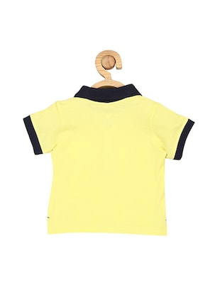 yellow cotton tshirt - 15610649 - Standard Image - 2