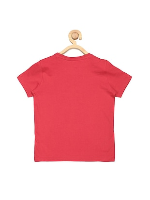 red cotton tshirt - 15610650 - Standard Image - 2