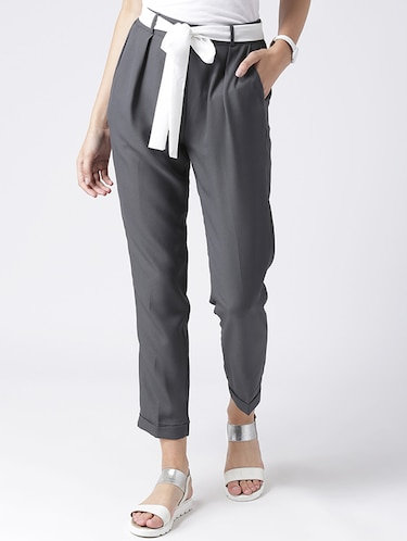24faf33bc Trousers For Women - Upto 70% off