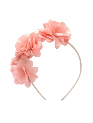 pink plastic hairband - 15611172 - Standard Image - 2