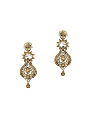 Gold Tone Necklace & Earrings Set - 15612526 - Standard Image - 2
