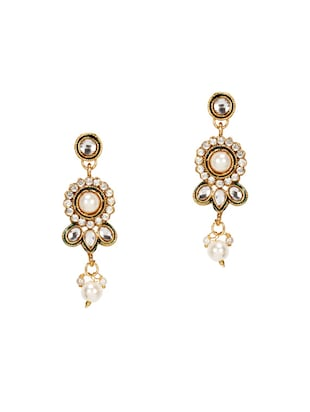 Gold Tone Necklace & Earrings Set - 15612539 - Standard Image - 2