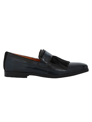 navy Patent Leather slip ons - 15613147 - Standard Image - 2