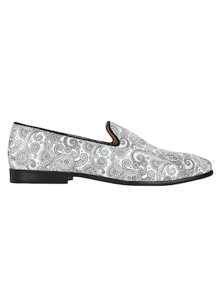 white Leather casual slip ons - 15613181 - Standard Image - 2