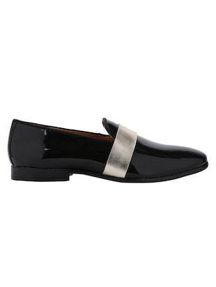 black Patent Leather slip ons - 15613206 - Standard Image - 2