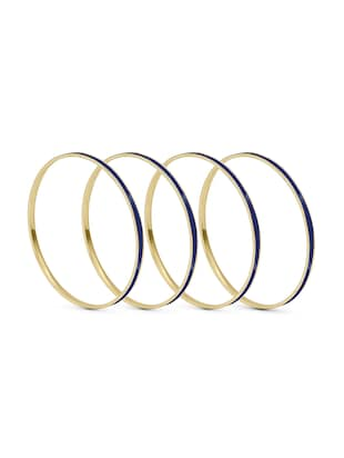 blue brass bangle - 15620451 - Standard Image - 2