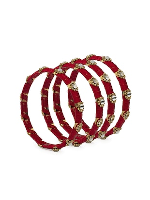 red brass bangle - 15620504 - Standard Image - 2