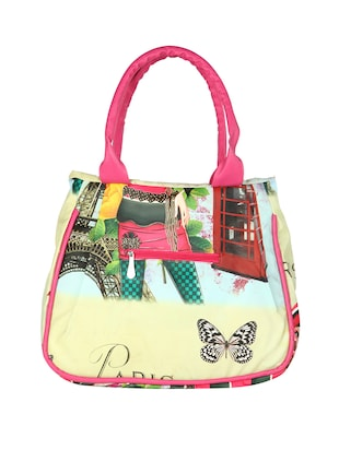 multi leatherette (pu) regular handbag - 15621303 - Standard Image - 2