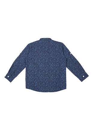 blue cotton shirt - 15625168 - Standard Image - 2