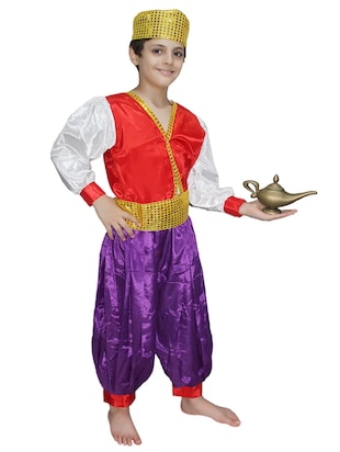 multi colored  polyester costume - 15625630 - Standard Image - 2