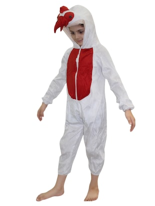 white polyester costume - 15625647 - Standard Image - 2
