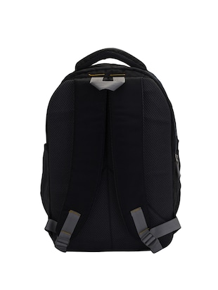 black cotton polyester blend regular backpack - 15625760 - Standard Image - 2