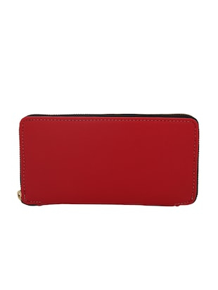 red leatherette (pu wallet - 15625775 - Standard Image - 2