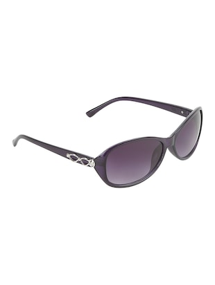 UV protected oval sunglasses - 15626024 - Standard Image - 2