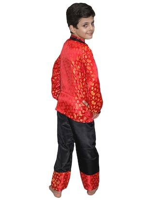 red polyester costume - 15626169 - Standard Image - 2