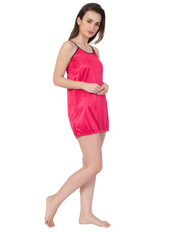 Buy Contrast Piping Short Nighty by Kissero - Online shopping for ... ef6d3df14