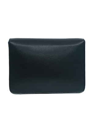 black leatherette (pu) regular sling bag - 15654799 - Standard Image - 2