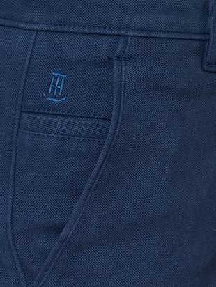 blue cotton chinos - 15655154 - Standard Image - 5