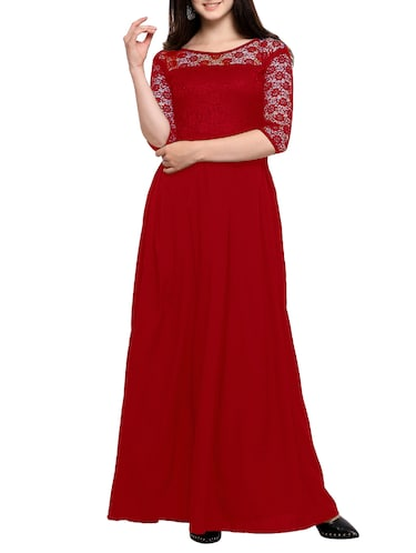 46056859050c Red Dress- Buy Red Dresses for Women