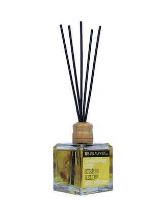 Soulflower Cube Reed Diffuser- Stress Relief - 15692766 - Standard Image - 2