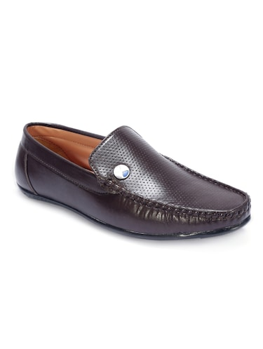 9ce32c149d3 Buy Tan Leatherette Office Wear Loafer by Knoos - Online shopping ...