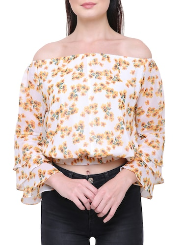 85a2d9fe310461 Buy tops for women stylish off shoulder in India   Limeroad