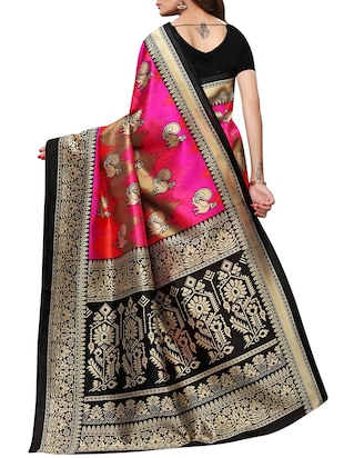 conversational mysore silk saree with blouse - 15726353 - Standard Image - 2