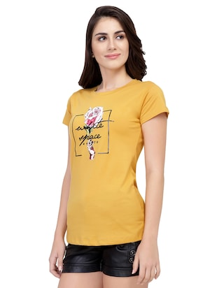 Graphic Print Short Sleeved Tee - 15726879 - Standard Image - 2