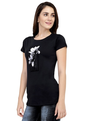 Graphic Print Short Sleeved Tee - 15726938 - Standard Image - 2