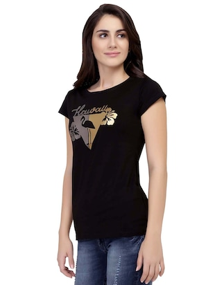 Graphic Print Short Sleeved Tee - 15726968 - Standard Image - 2