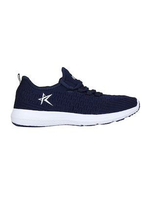 navy Fabric sport shoes - 15729389 - Standard Image - 2