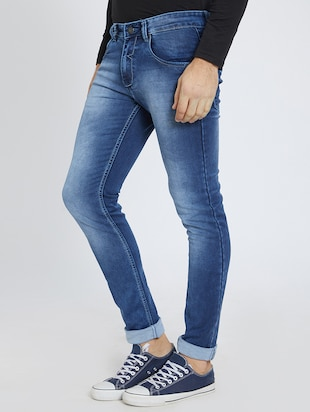 blue denim washed jeans - 15729567 - Standard Image - 2