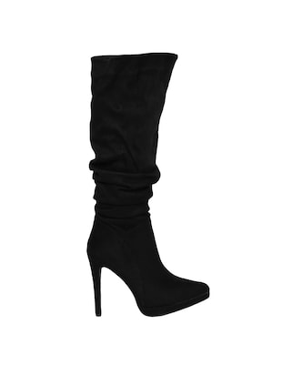 black knee length  boots - 15729809 - Standard Image - 2