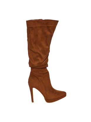 brown knee length  boots - 15729810 - Standard Image - 2