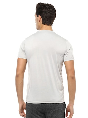 grey polyester t-shirt - 15729949 - Standard Image - 2