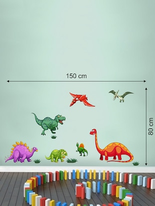Wall Decals ' Dinosaurs '  Wall stickers (PVC Vinyl) - 15730209 - Standard Image - 2