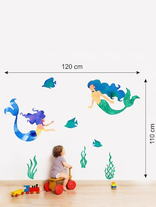 Wall Decals ' Mermaid ' Wall stickers (PVC Vinyl) - 15730219 - Standard Image - 2
