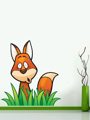 Wall Decals ' Fox Set '  Wall stickers (PVC Vinyl) - 15730252 - Standard Image - 2