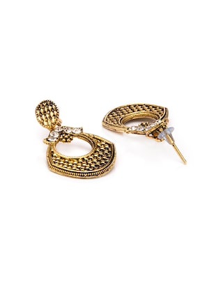 Gold Tone Drop Earrings - 15730453 - Standard Image - 2
