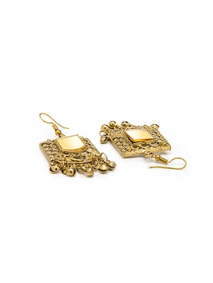 Gold Tone Drop Earrings - 15730463 - Standard Image - 2