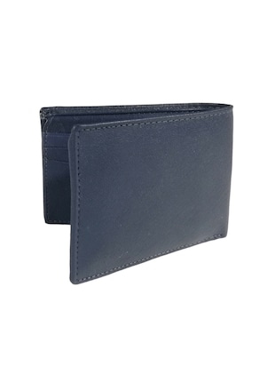 navy blue leather wallet - 15731530 - Standard Image - 2