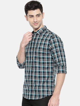 multicolor cotton casual shirt - 15731544 - Standard Image - 2
